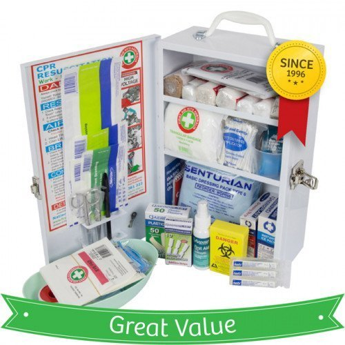 K709-Childcare-Eduction-Metal-Wallmount-First-Aid-Kit-hero-500×500