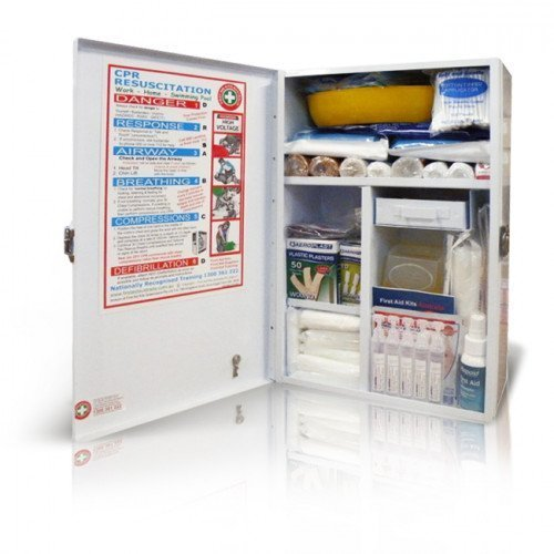K809-Childcare-First-Aid-Kit-Medium-Wallmount-open-1-500×500